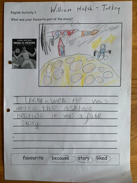 Super sentence William. I agree, it is a funny story.