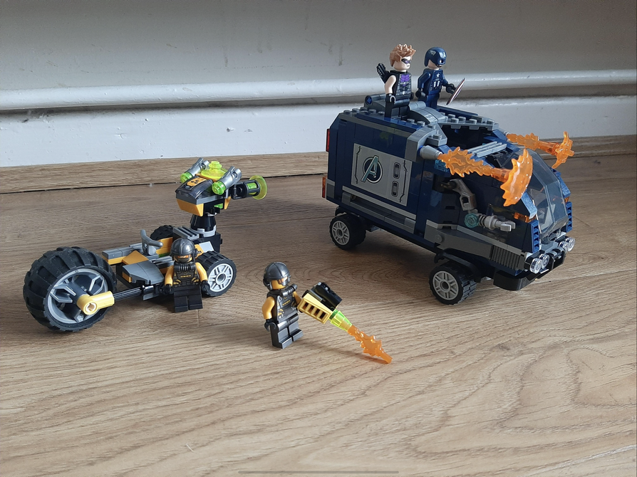 Danny P creative with Lego