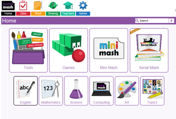 Purple Mash - our new online software  1