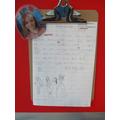 Bea's brilliant piece of creative writing.