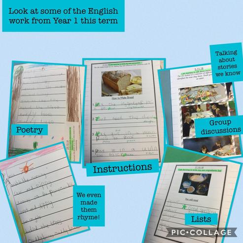 Year 1 have enjoyed retelling and writing stories