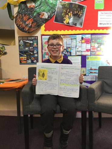 A brilliant information text about dragons
