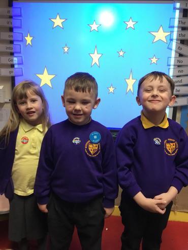 Stars of class 2!