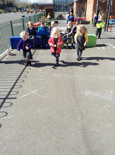 Egg and spoon races!