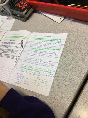 Handriting pen star!