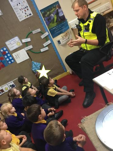 Finding out about the job of a Police Officer