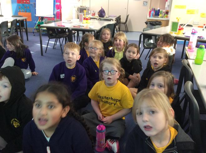 We sang in 2 part harmony!