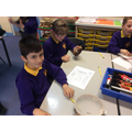 We composed rhythms for our polyrhythm performance