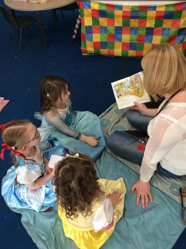 Storytime with our lovely parents