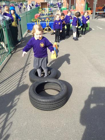 Over the tyres