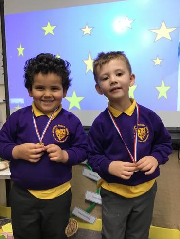Hard worker 😊 and a phonics star 🌟