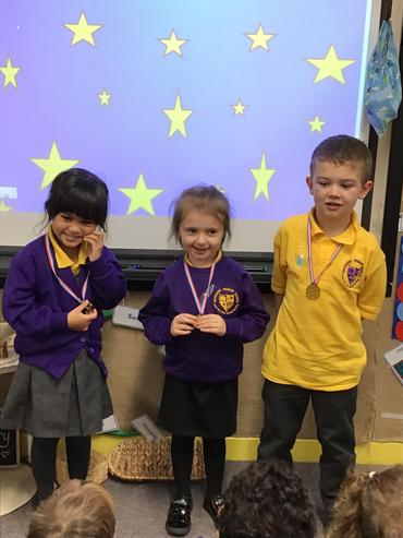 Wonderful phonics, name writing and a number star!