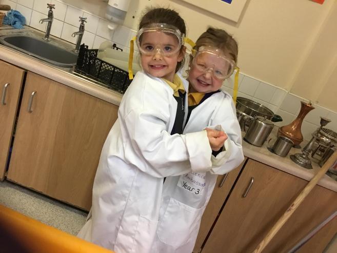Super scientist friends!
