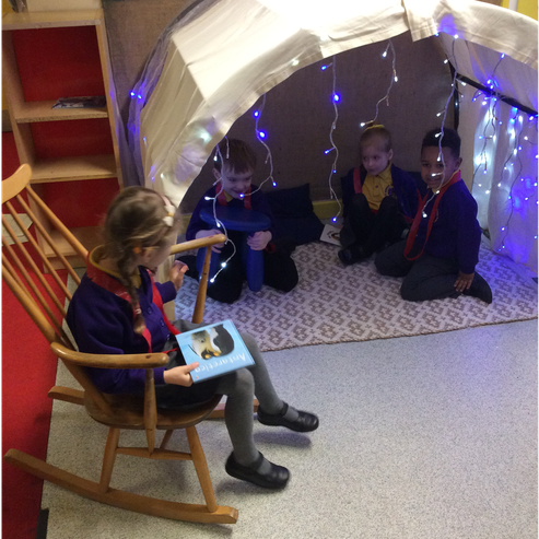 The most popular reading igloo in Westerhope!