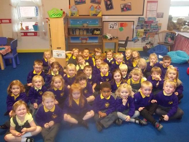 My wonderful Nursery Class!