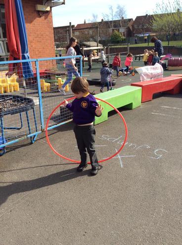 Using the hoop