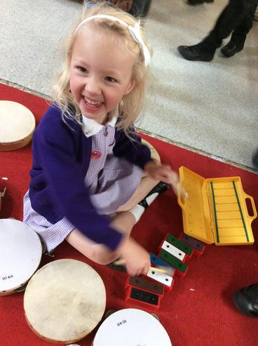 A happy musician!