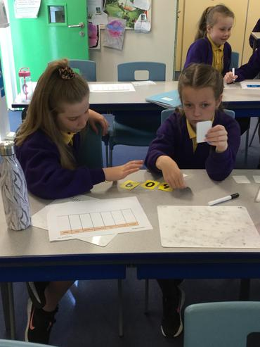 Maths games in action