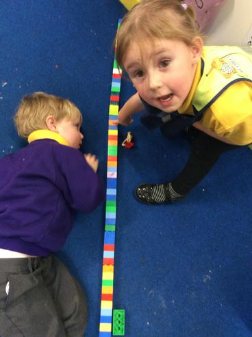 """""""This is how long he is. He is up to here!"""""""