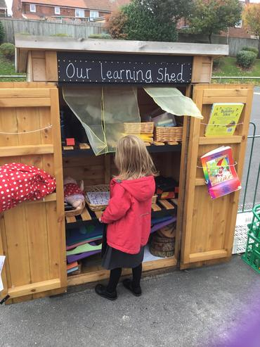 Lots to discover in our learning shed