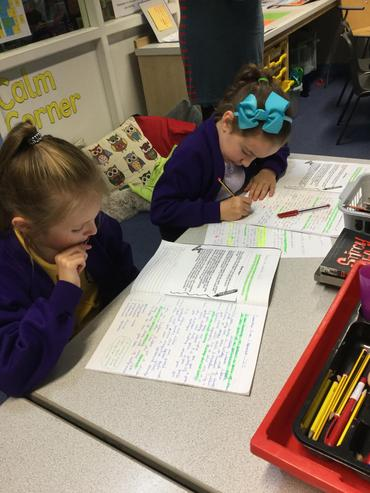 Reading and responding to  marking comments