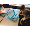 We learnt melody and harmony parts