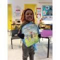 What a 'grrreat' winner of our fabulous back pack!