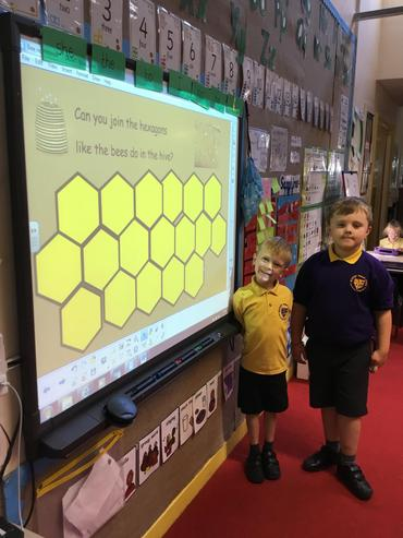 Making our own honeycomb