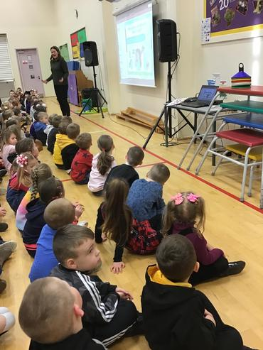 Our assembly to launch our 'Good to be me' day!