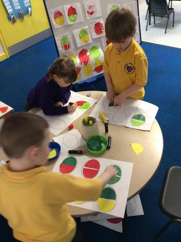How many eggs can we make using 3 colours?