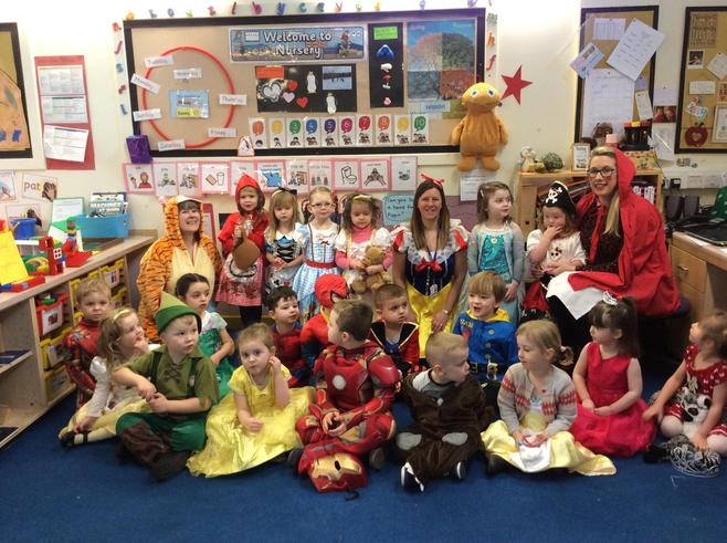 A class full of storybook characters! Amazing!