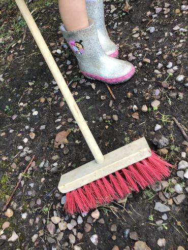 Our best garden sweeper!