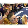 We have been composing rhythms!