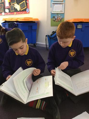 Boys have written a linked myth which is fab