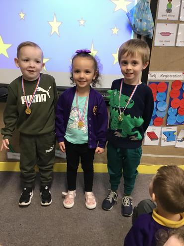 Here are our stars of the week, we are so proud of you!