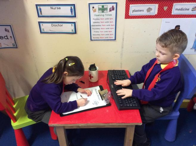 Good writing and typing skills!