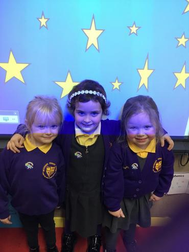 Class 1's little writing and friendship stars