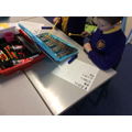 We composed our own instrumental parts