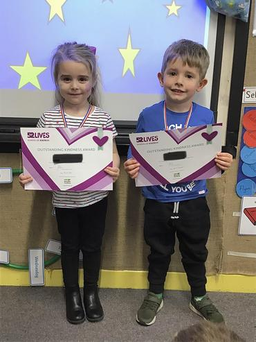 Here are our kindness stars, thank you for always being kind.