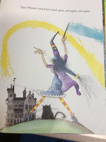 'Winnie the Witch' by Korky Paul
