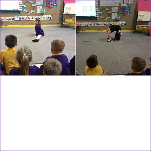 A little dancing show before lunch!
