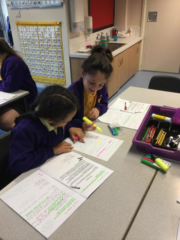 Paired marking and editing