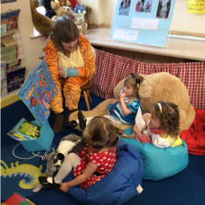 Storytime with the Tiger who came to Tea
