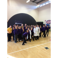 Year 5 and 6 explore the scale of the universe!