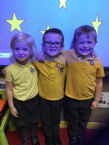 Class 2 Our Big Help, Number and Writing Stars
