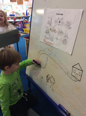 Making maps to get to Granny's House