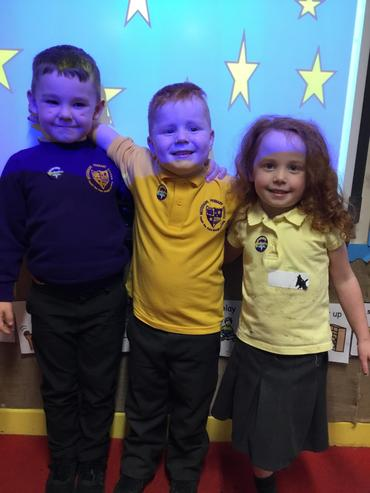 Class 2's Number, Writing and story telling stars!