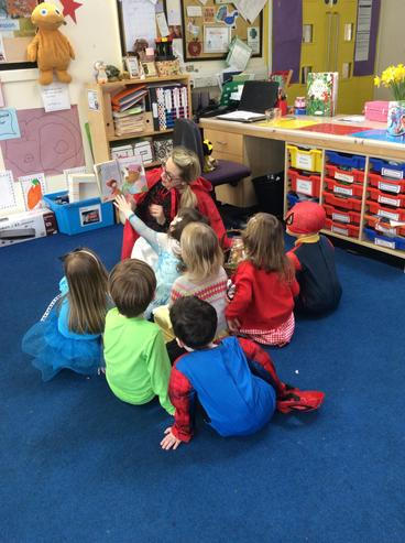 Story time with Little Red Riding Hood