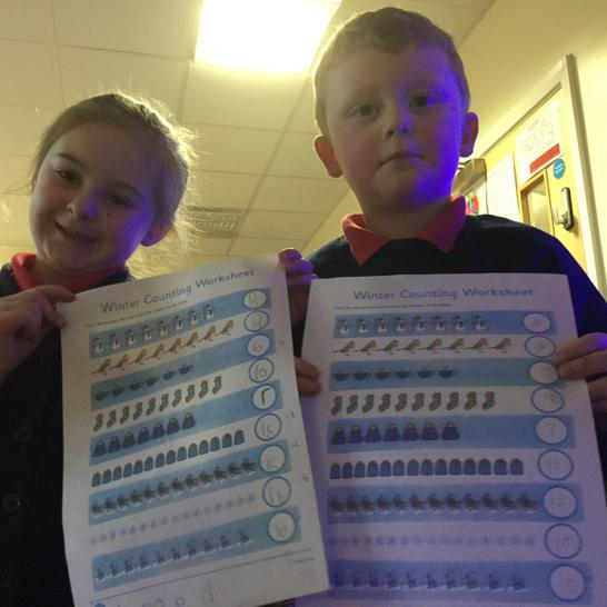 Counting and writing numerals