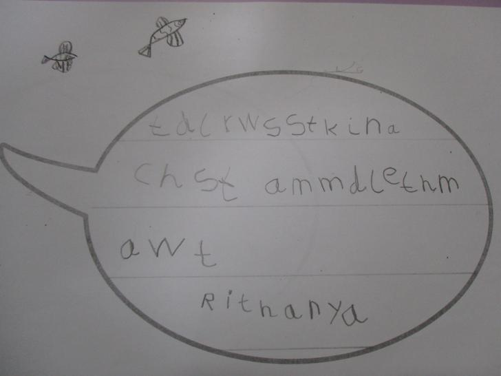 Rithanya's wrote about the mermaid rescuing him!